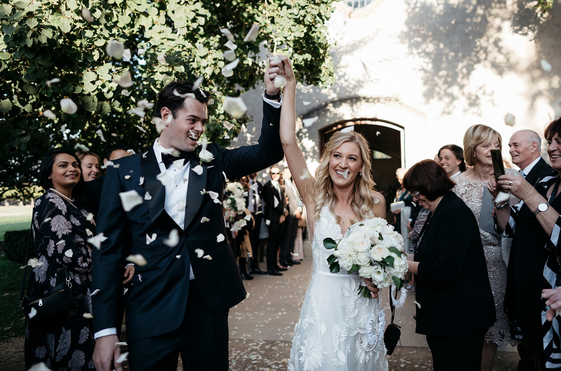 KATE + STEVE / Katie Harmsworth Photography / Stones of the Yarra Valley / Sugar Bee Flowers