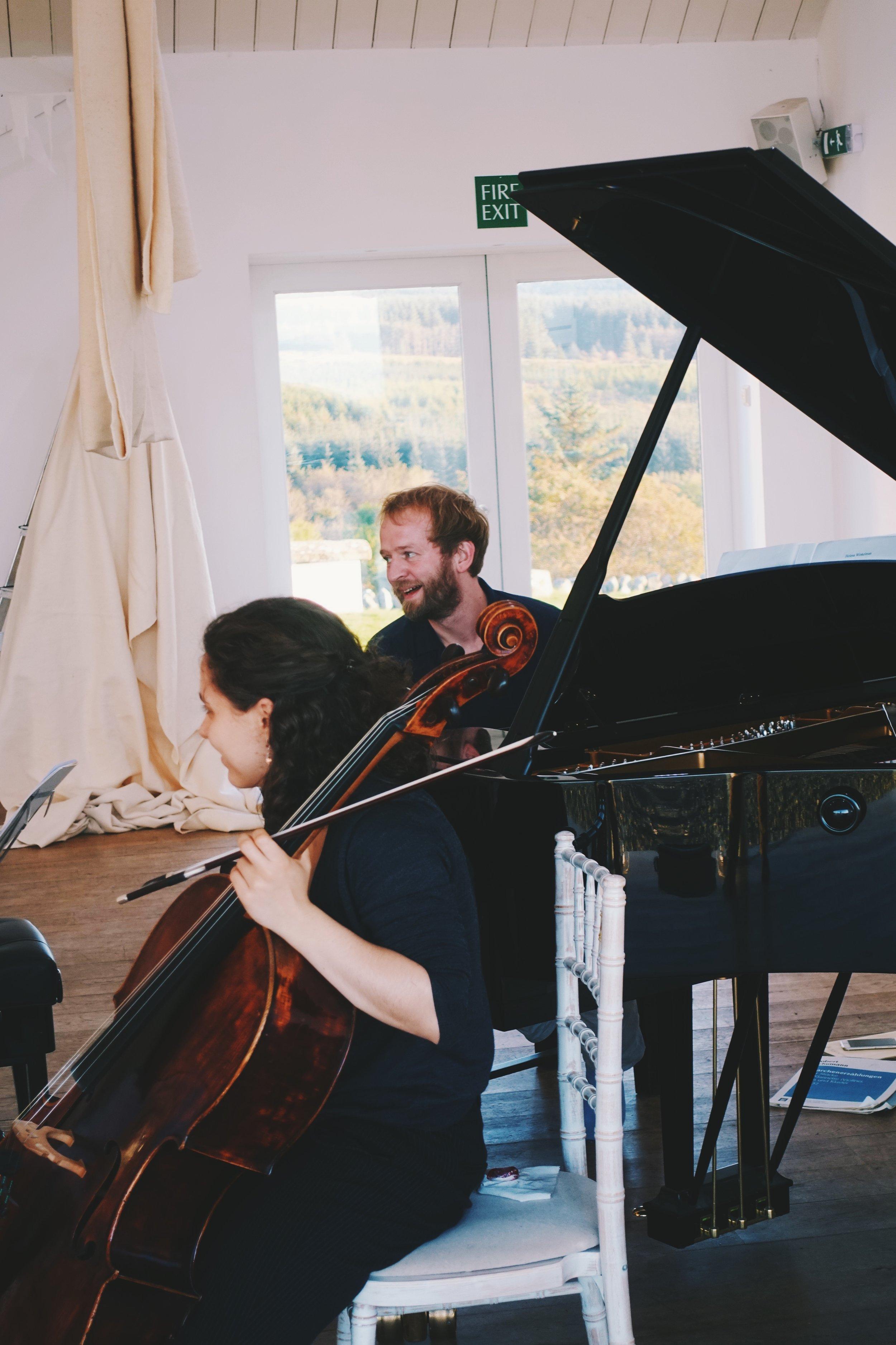 Chiara Enderle and Alasdair Beatson