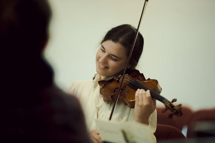 Photographer:Anna Patarakina Maria Włoszczowska, violin