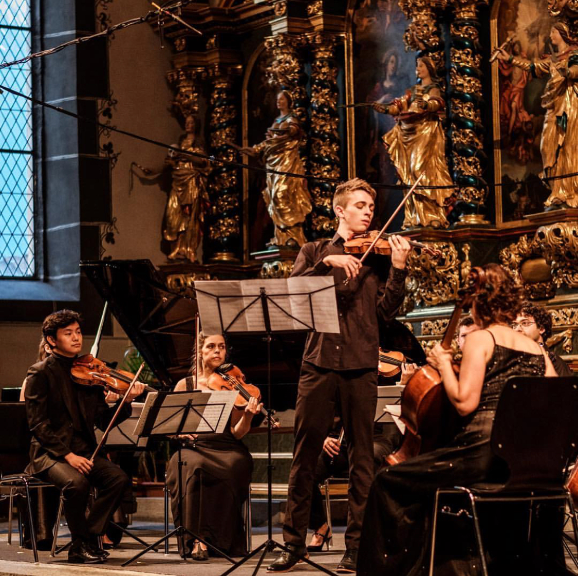 Performing Vivaldi Four Seasons with the Ernen Festival Orchestra