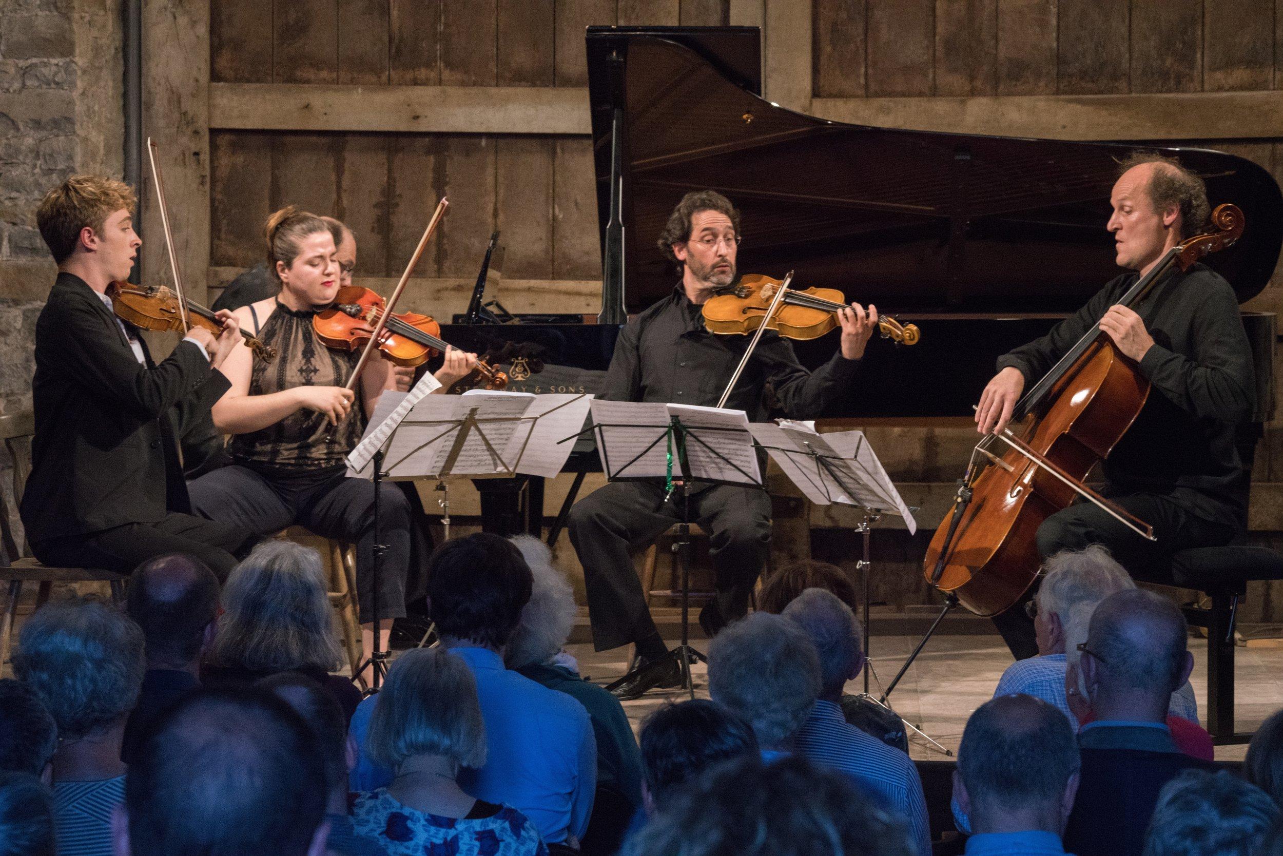 Reynaldo Hahn Piano Quintet with Tim Crawford, Natalia Kotarba, Guy Ben-Ziony, Martijn Vink, Muhiddin Dürrüoğlu