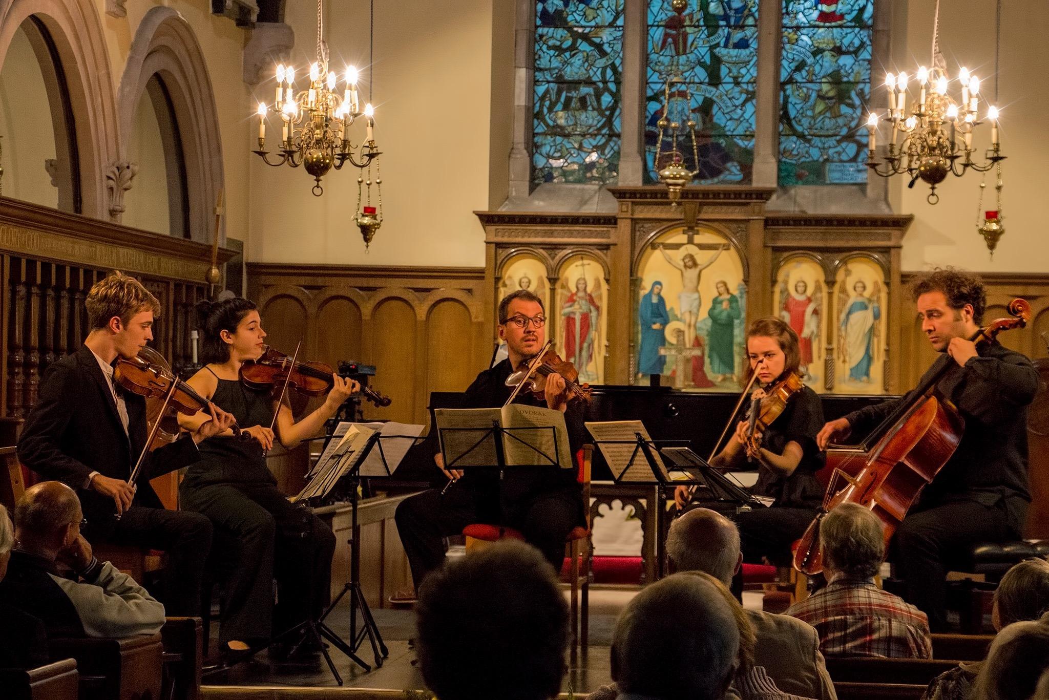 Dvorak E flat Major String Quintet Op.97 with Tim Crawford, Maia Cabeza, Francis Kefford, Léa Hennino, Julian Arp