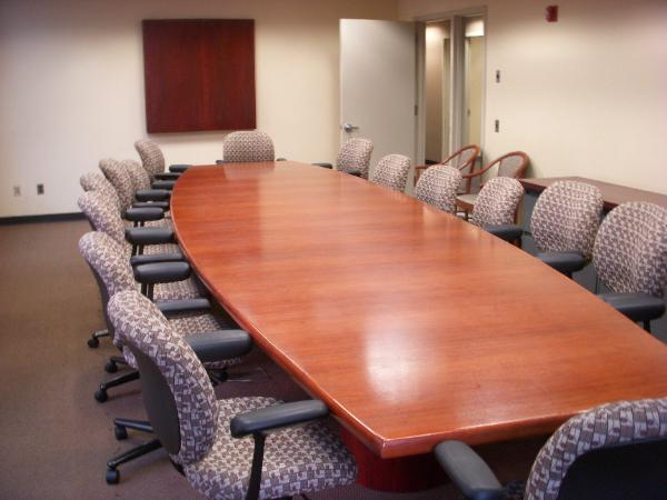 18' x 5' x 3' Boat shape conference