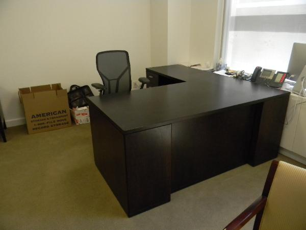 "P3 - 36"" x 72"" L-shape desk with 42"" Return.  (1 Left retrun and 1 Right return.)"