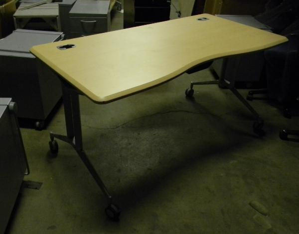 "60"" X 30"" Hon training tables - maple tops"
