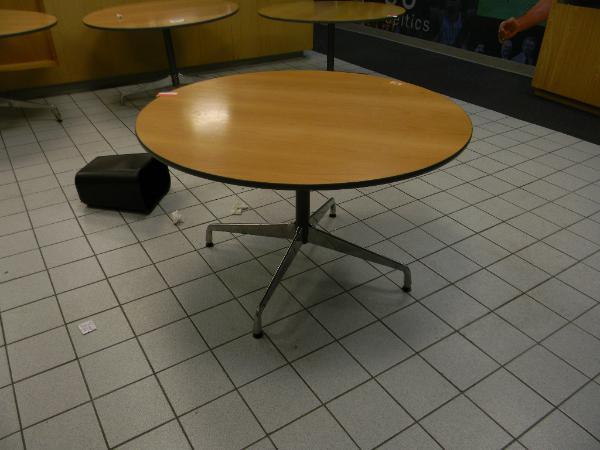"4: 48"" herman miller tables"