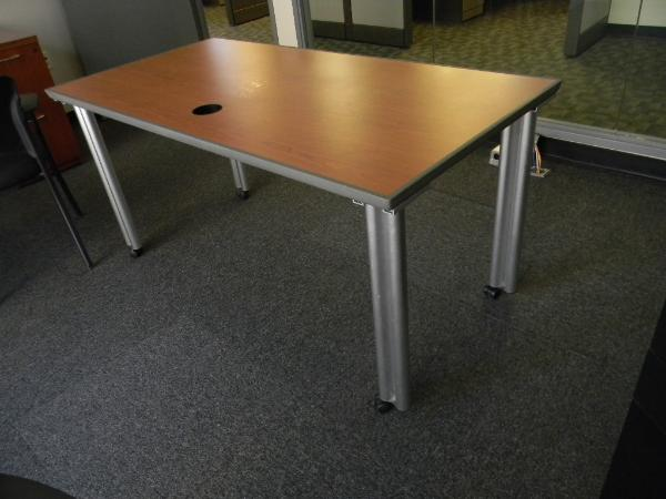 "60"" x 30"" Knoll Propeller tables 4 units"