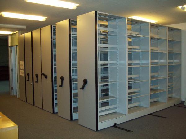 used space saver storage.