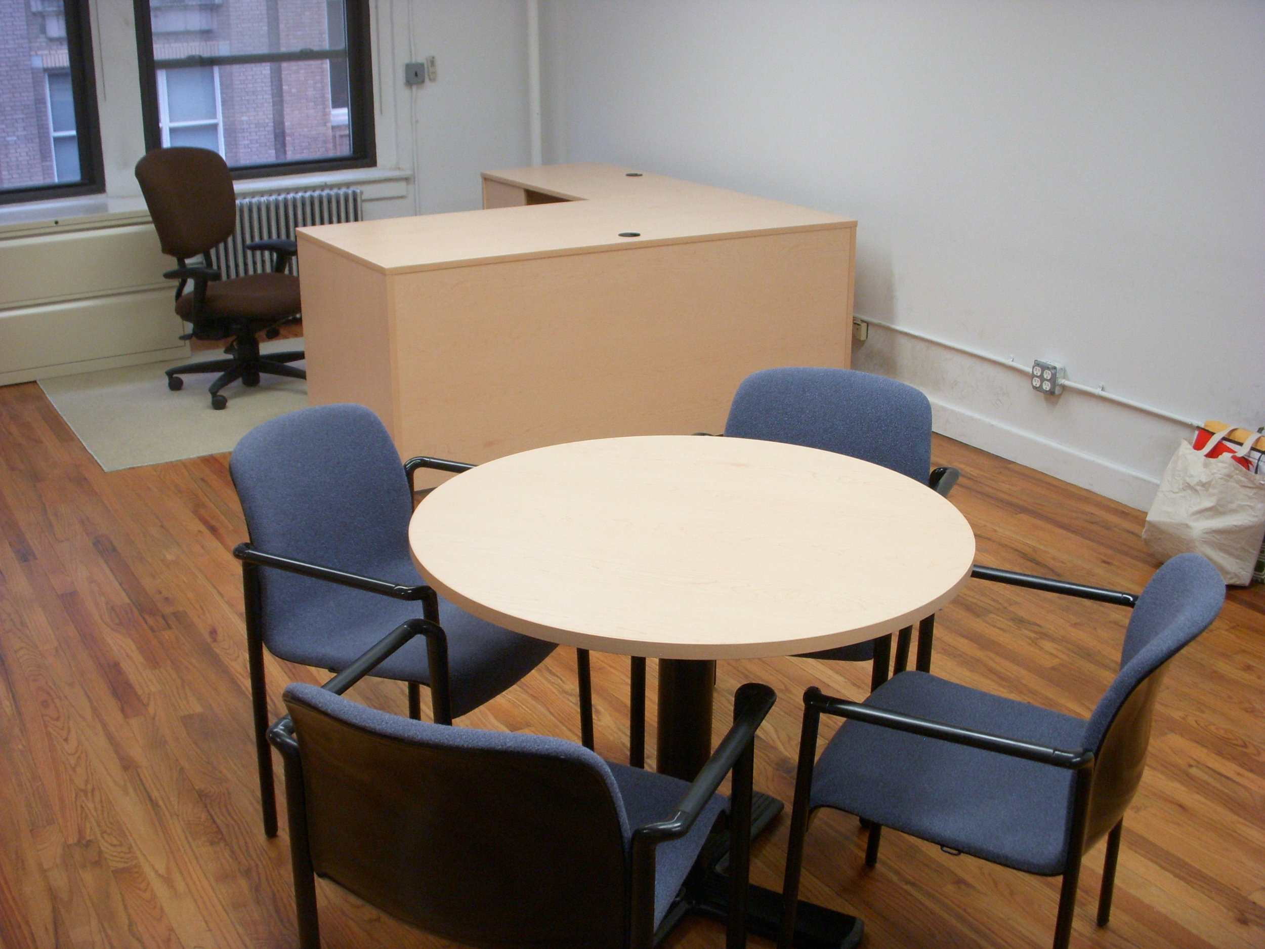 office suite with maple desk and table.JPG