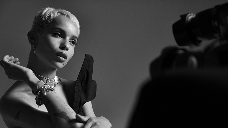 Zoë Kravitz, égérie de la campagne « There's only One » de Tiffany