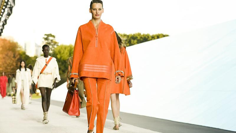Crédit photo : Hermès défilé printemps-été 2019