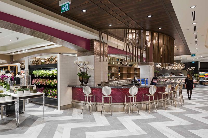 Saks Fifth Avenue food hall