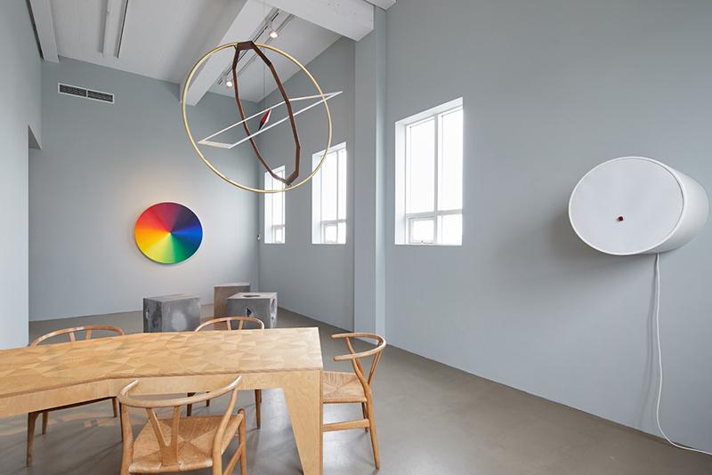 L'atelier d'Olafur Eliasson