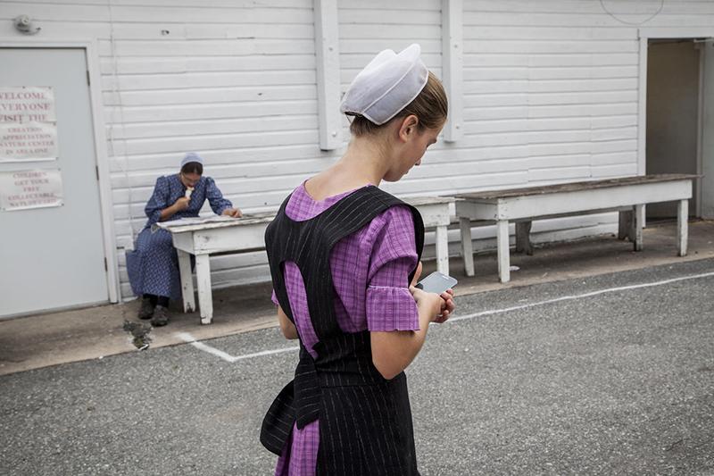 Amish par Ashley Gilbertson, The New York Times