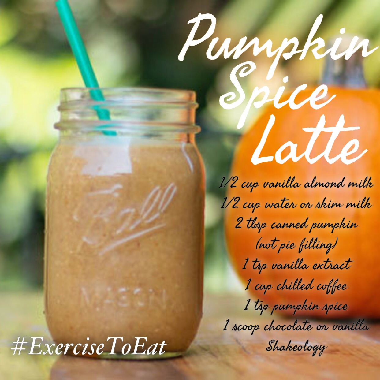 Only 6 grams of sugar in shakeology compared to 89 grams in Starbucks PSL, and shakeology is cheaper per cup!  So which pumpkin spice latte is for you?