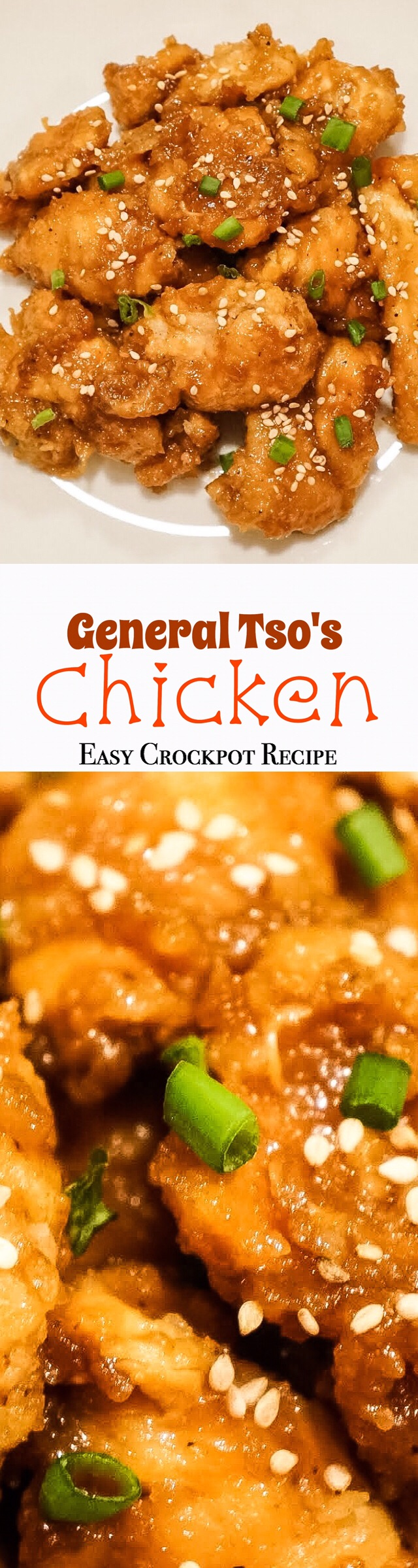 Shake things up with this easy crockpot recipe! Yummy take on General Tso's Chicken!