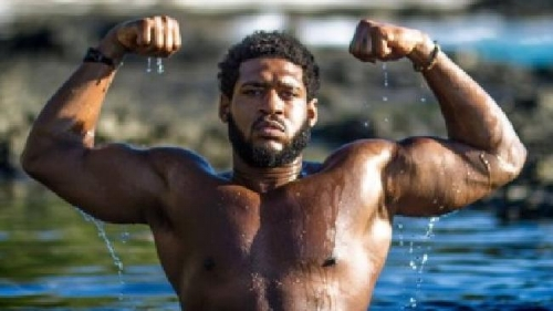 David Carter - 300lbs Vegan... Nope, this does not come to mind when I think of a vegan!
