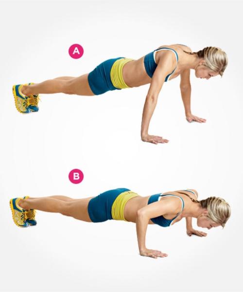 regular push ups