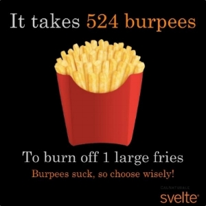 What do you mean burpees suck?