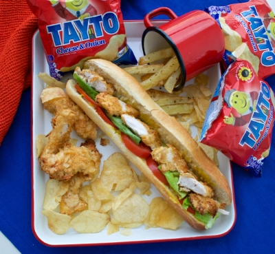 If you are going to eat a chicken fillet roll, don't ruin it with adding mayo!