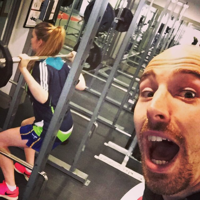 From not using weights at all, Grace got a lot fitter and stronger through this challenge
