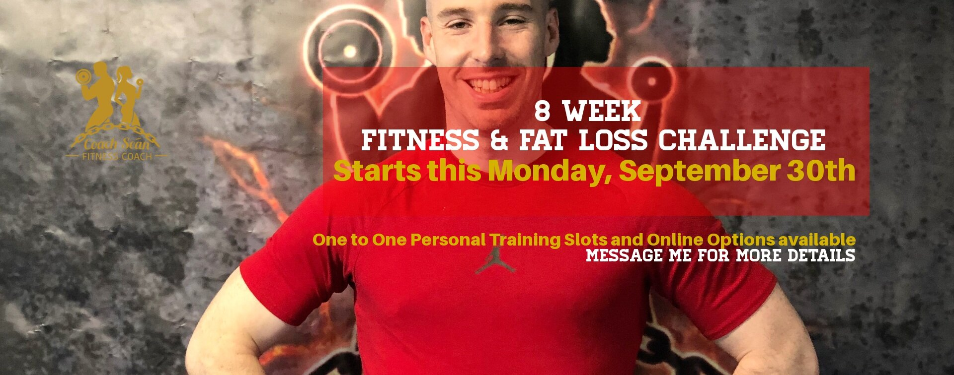 8 week fitness and fat loss transformation challenge coach sean lucan dublin online fitness personal trainer training
