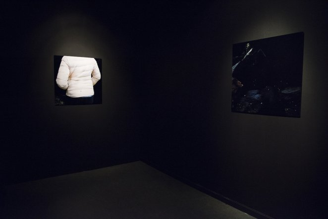 Installation View, The World Has Turned (Ultra Light Down, Science and Darkness)