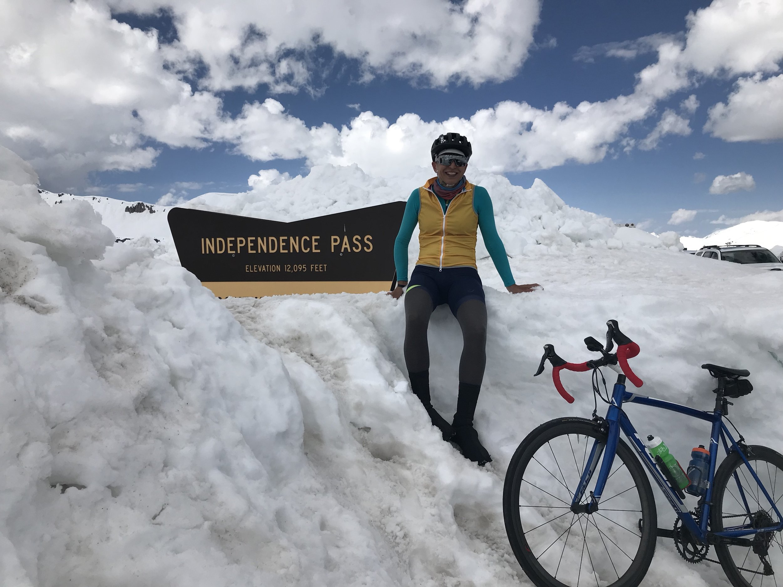 Independence Pass — First day open for the season