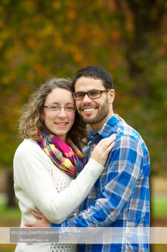 Columbus Ohio Engagement Photo