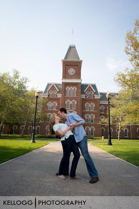 Ohio State University Engagement Photography