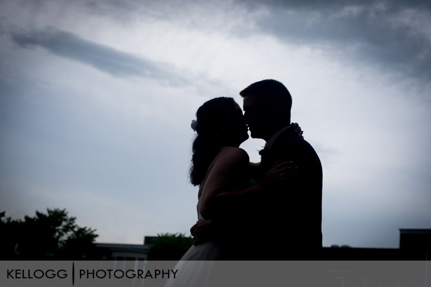 Sky wedding photos