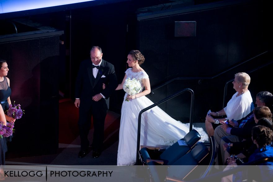 COSI Planetarium Ohio Wedding