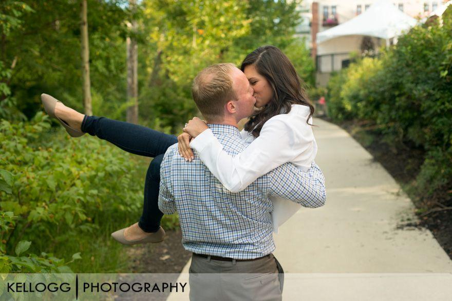 Creekside Engagement Photos