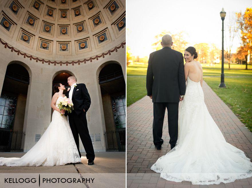 Ohio Stadium wedding photos