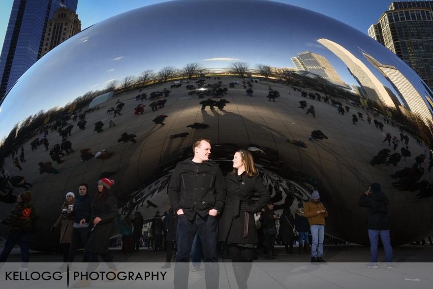 Engagement Session Cloud Gate Chicago