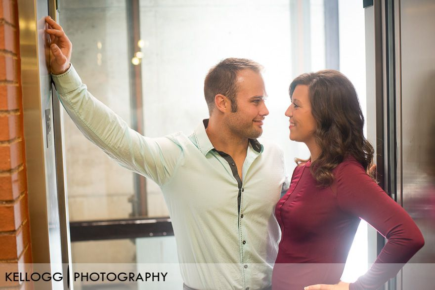 Arena District Engagement Photo