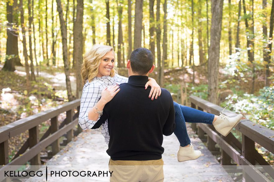 Highbanks Park Engagement Photos