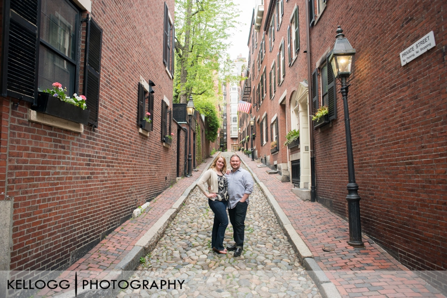 Boston Engagement Photo