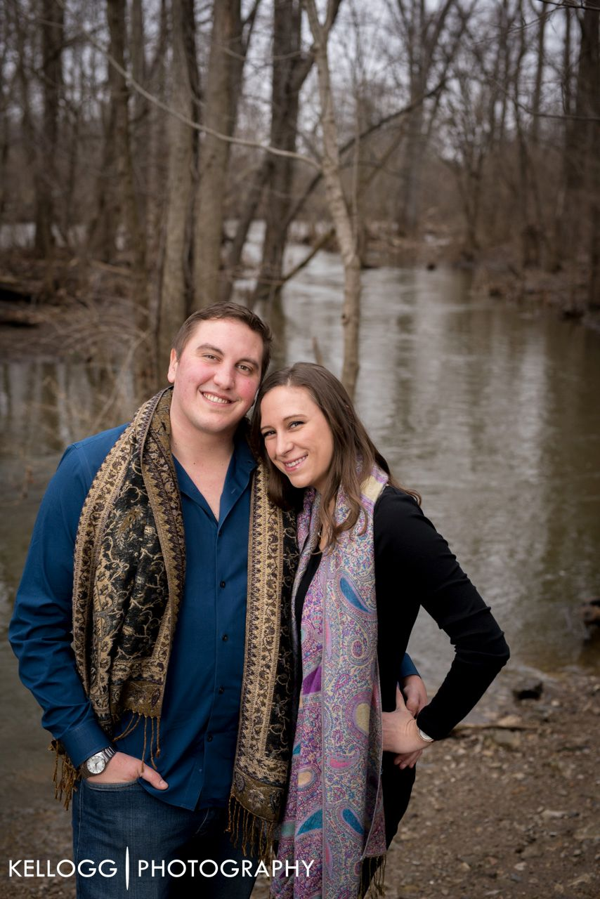 Gahanna Ohio Engagement Session
