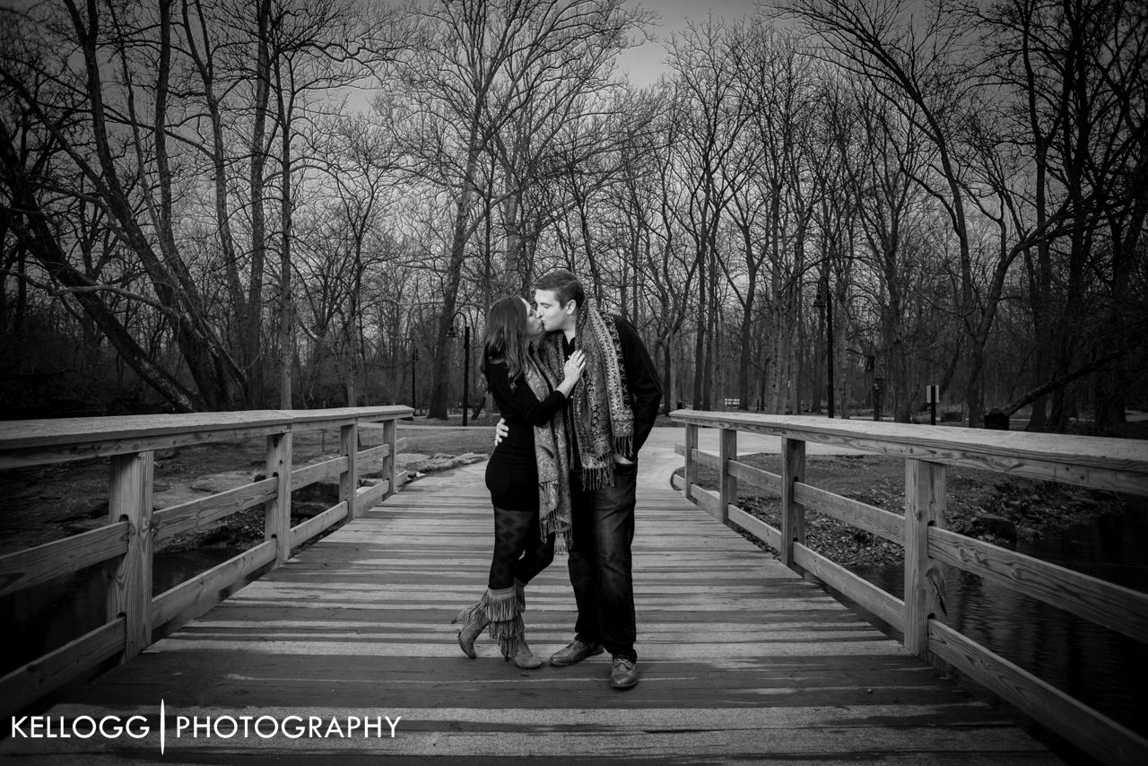 Creekside Engagement Session