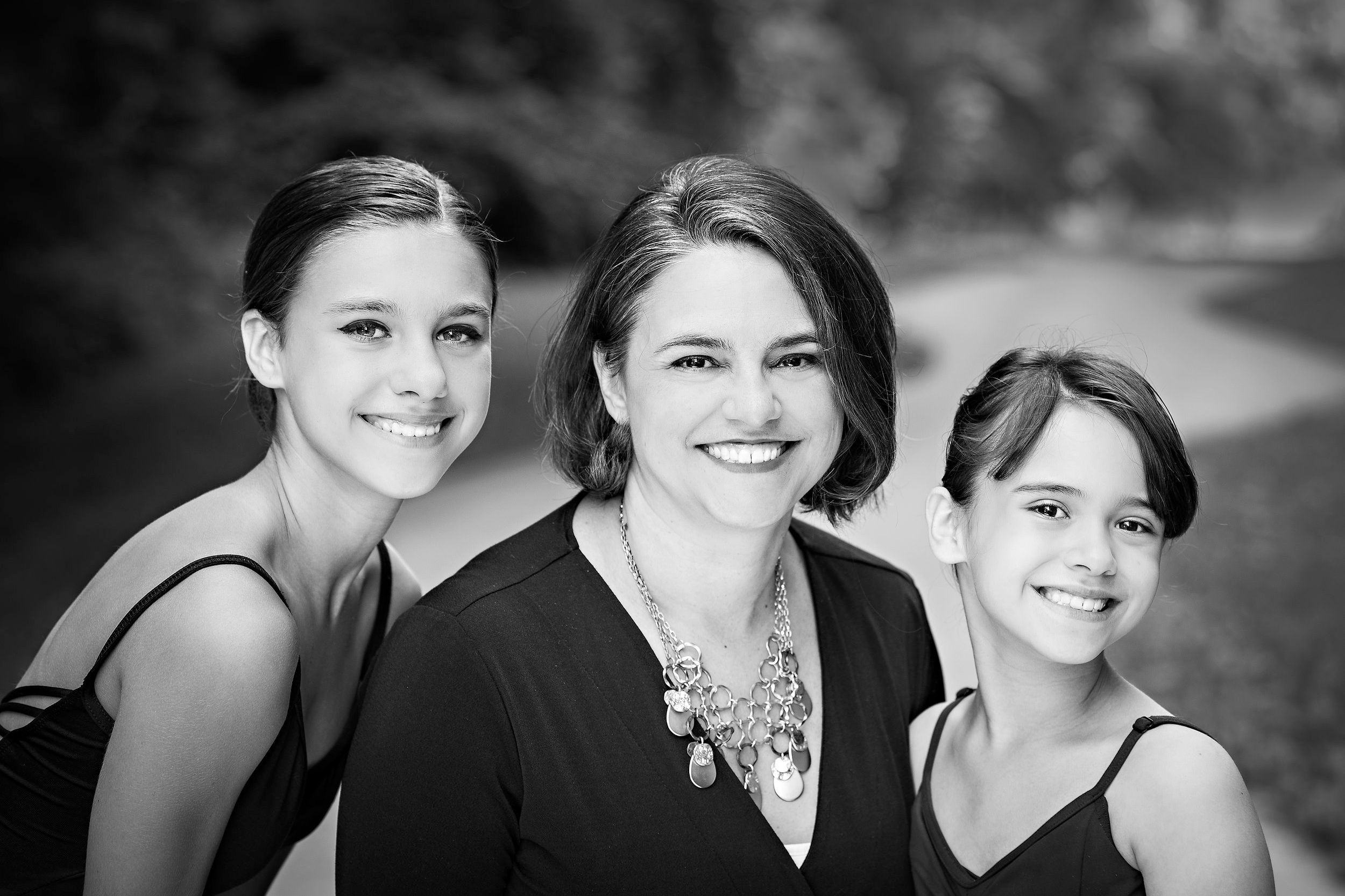 FAMILIES IN BLACK AND WHITE -