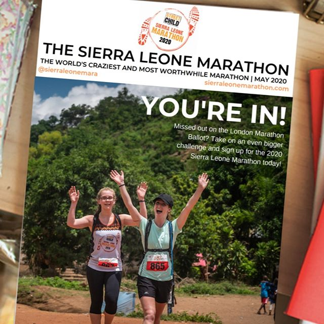 Missed out on the London Marathon ballot? Well get ready to cross an even more impressive finish line... Everyone agrees that London is an amazing race, but it's got nothing on the challenge of running a marathon in remote Africa in 30 degree heat and 90% humidity at the Sierra Leone Marathon- what a way to stand out from the crowd and do something amazing! Registrations are open now, so sign up today for the greatest thing you will do in 2020.  #runforStreetChild #runforcharity #runforacause #SierraLeoneMarathon #SLM #Africa #runninginafrica #adventuremarathon #marathon #runforcharity #runtoinspire #worldrunners #marathontours #runcation #trailrunning #runafrica #runspiration #marathonafrica #charity #charityfundraising #charitymarathon #charitychallenge #africaadventures #marathontours #ukrunchat #runchat #igrunners #adventure #instarunners #travel
