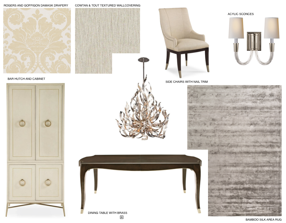 CONCEPT BOARD: Formal Dining Room
