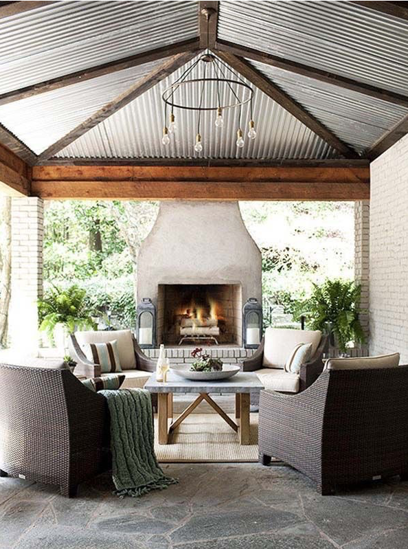 Image of Outdoor area found on Pinterest.