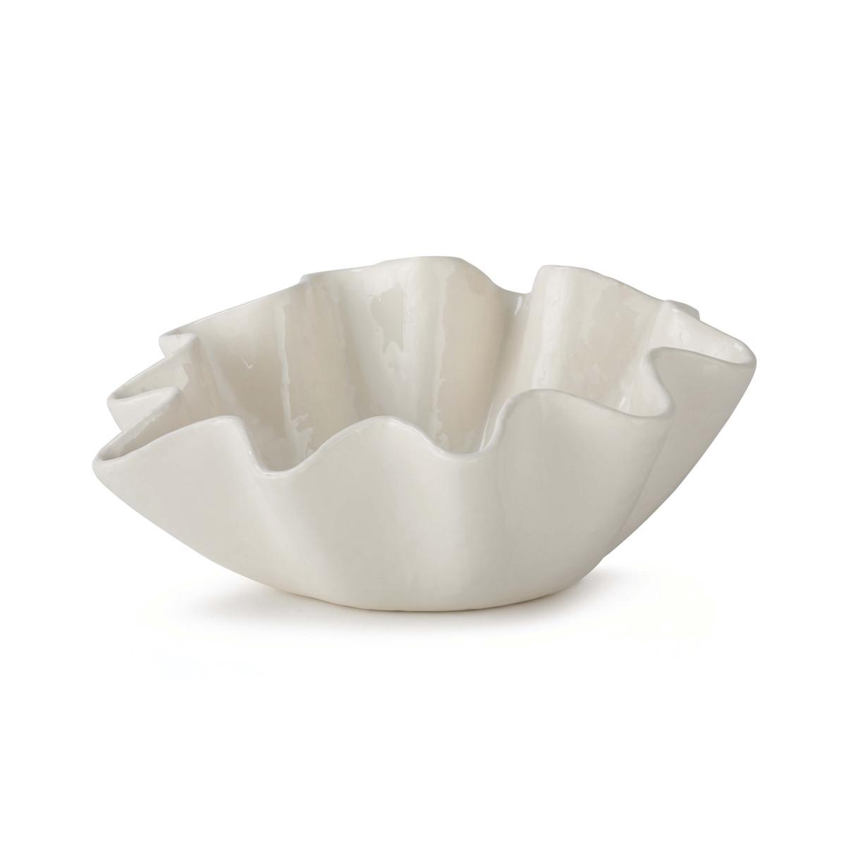 Ruffle Ceramic Bowl
