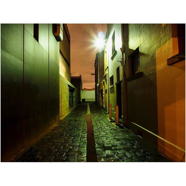 An inner Melbourne laneway from a few years ago.