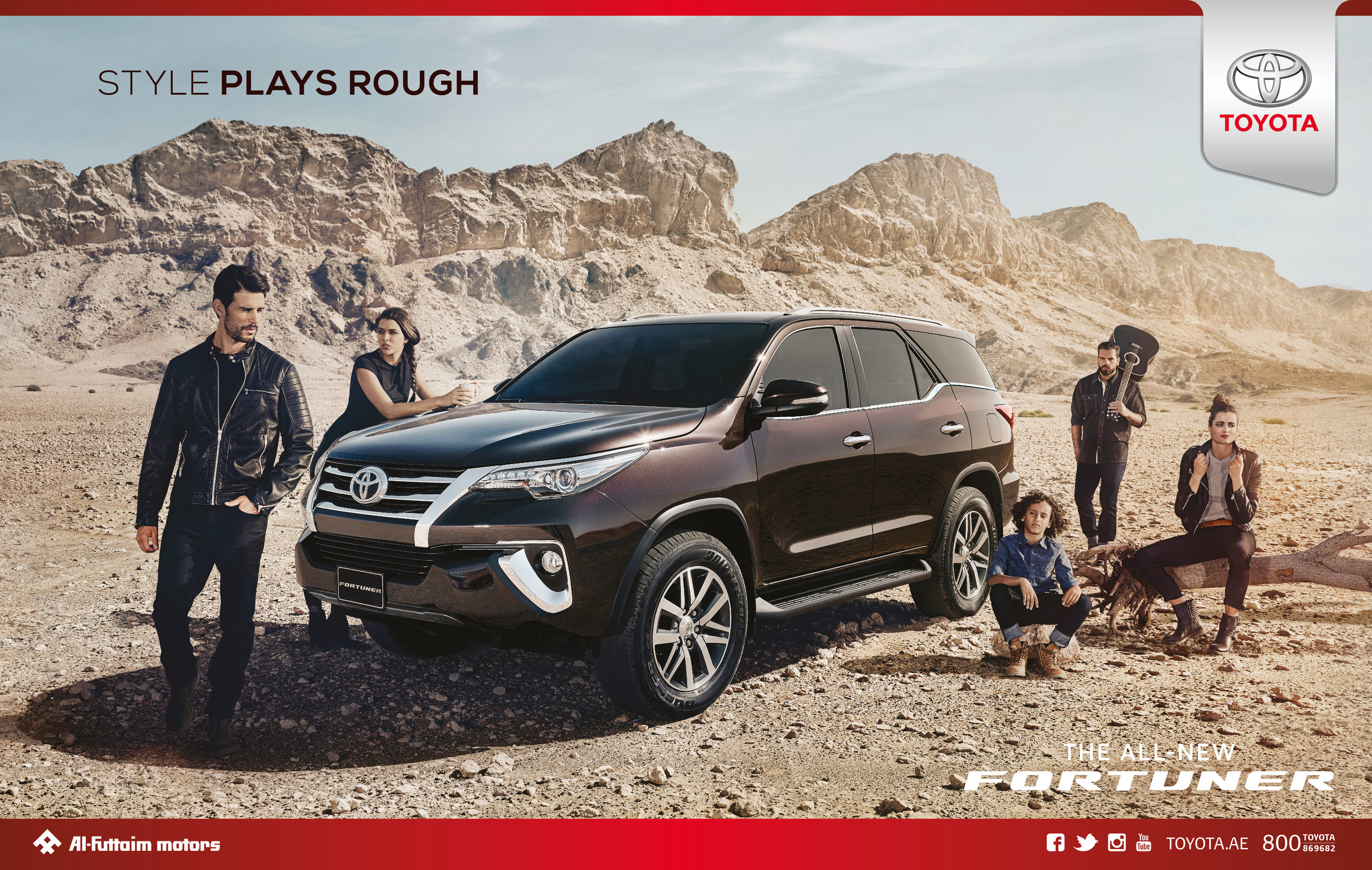 Toyota   Agency - GMASCO | Al Futtaim Motors  Photographer - Adam Browning Hill |  Hywell Waters
