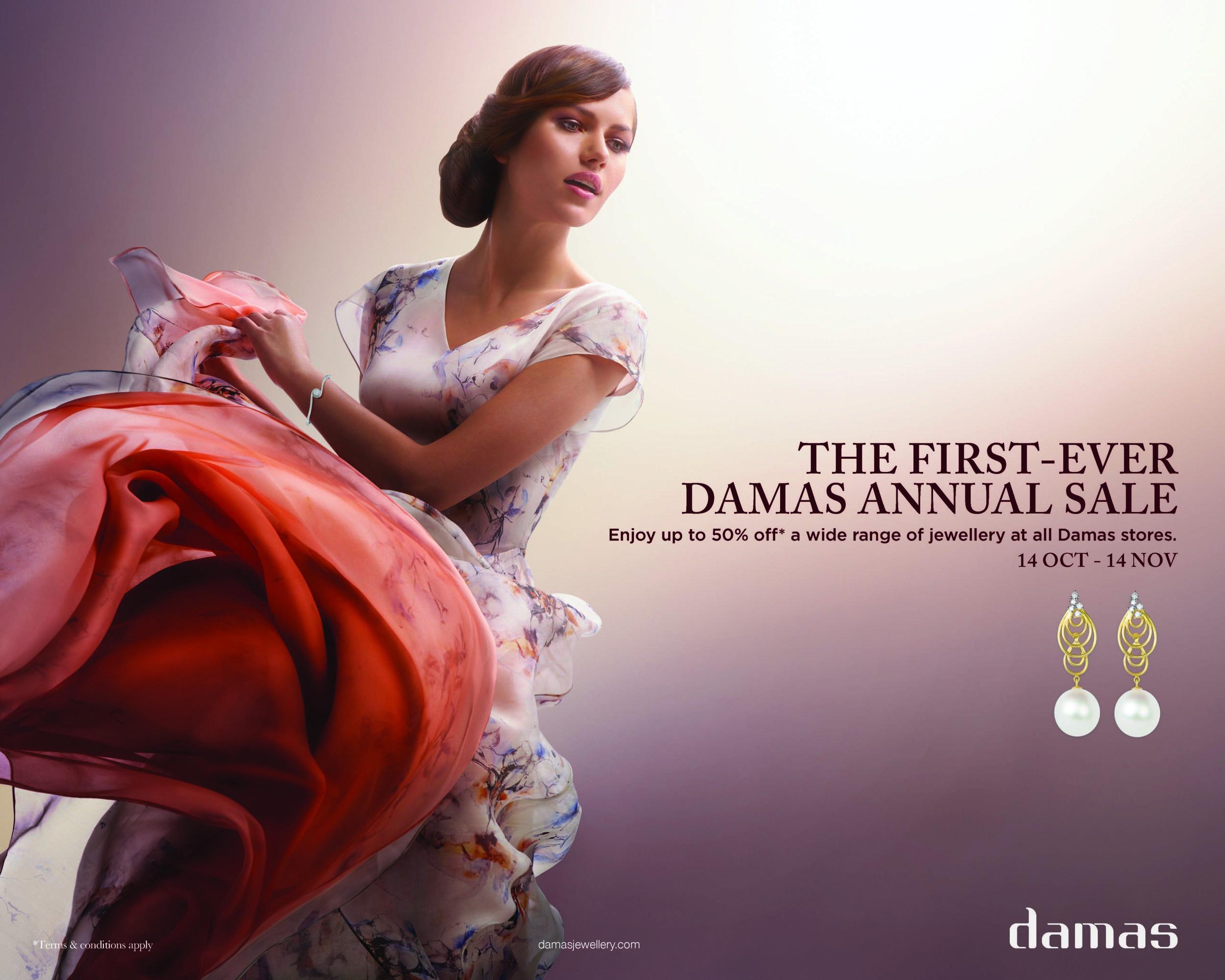 Damas Sale   Agency - J Walter Thompson Dubai  Photographer -  Mazen Abusrour