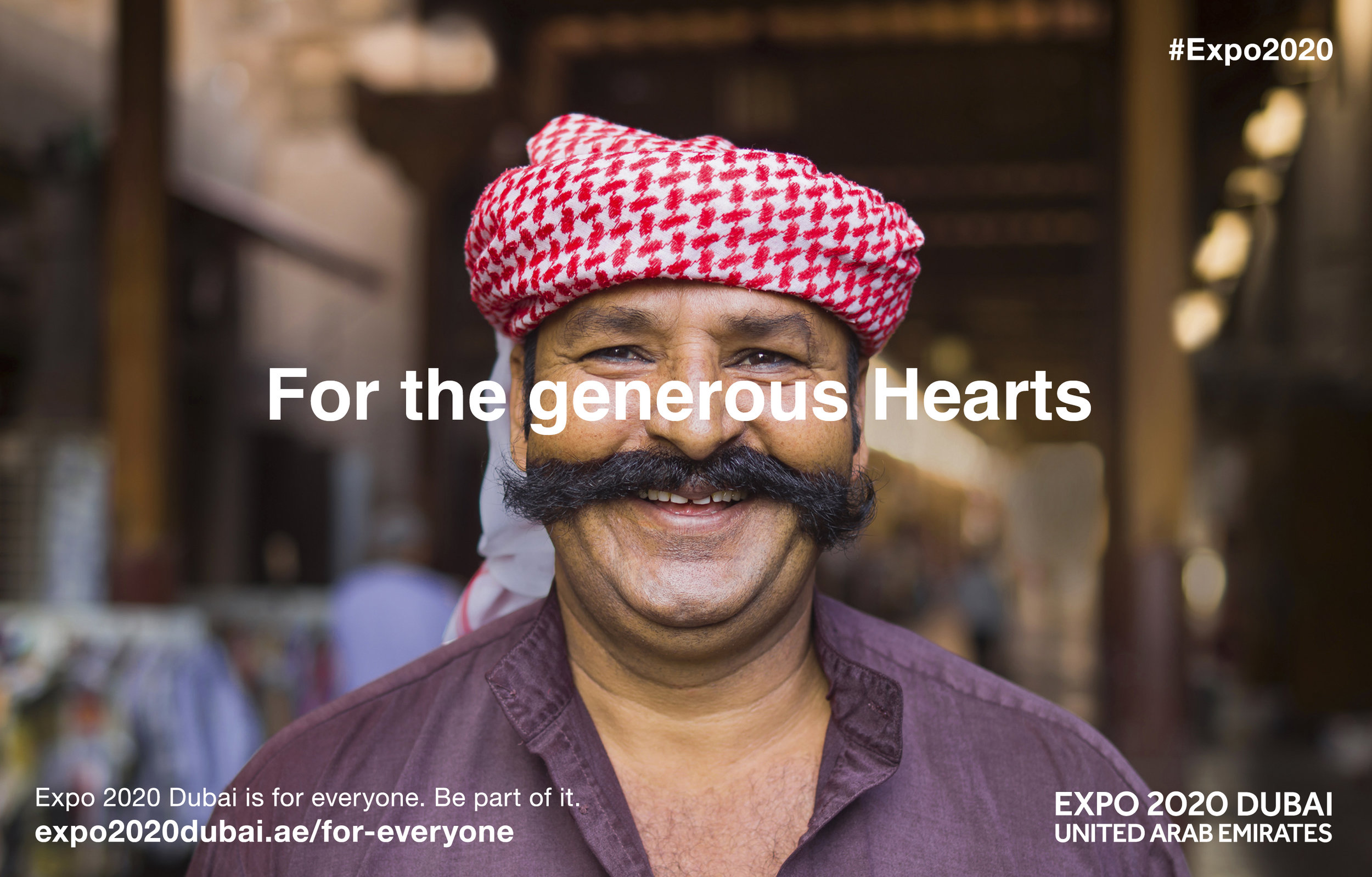 Expo 2020 Dubai   Agency - McCann - Erickson London  Photographer -  Hywell Waters