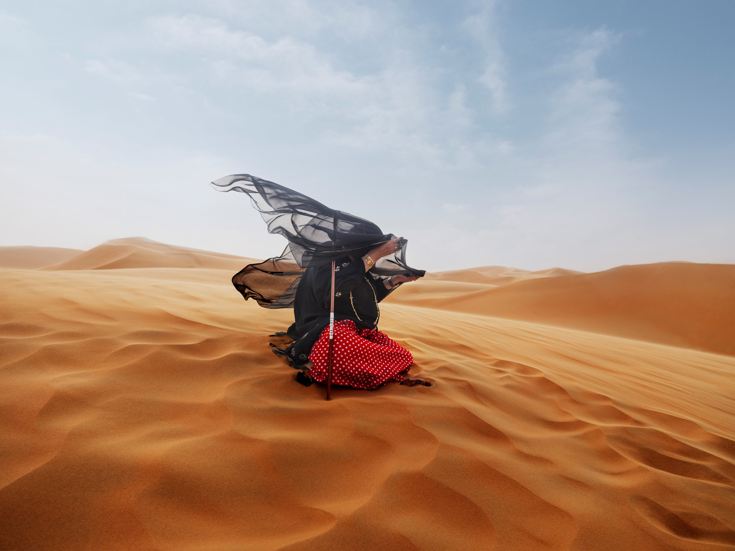 Untold Stories | The Camel Queen | Department of Culture and Tourism Abu Dhabi   Agency: M&C Saatchi UAE  Photographer:  Katarina Premfors